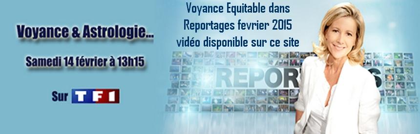 Revue de presse télé et radio la voyance suTF1 Reportages avec Patricia Lasserre et Serge Koskas
